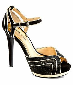 Totally obsessed with these! Gianni Bini Sabrina Dress Sandals