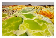 Acid pools, Dallol, Ethiopia