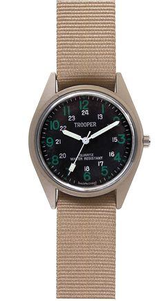 Rothco SWAT Watch Khaki Military Style Casual Quartz Desert Tan Watches 4605