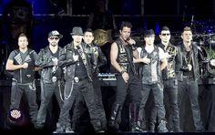 NKOTBSB. June 2011. Atlanta, Phiips Arena. Went for fun with my sister. Actually probably one of the most entertaining shows I've ever been to. For a group of 9 men in their 30's and 40's, they can really move and sing. Plus Joey and Jordan are still kind of hot. Would totally go again. :)