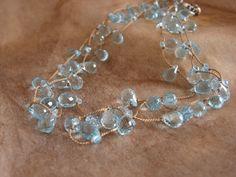 宝石質スイストパーズのネックレス - jewelche