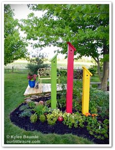 "Our Little Acre: ""Lowes Creative Ideas: A Rainbow of Color For a Partly Shady Garden - and a Deck!"""