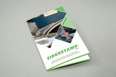 #Brochure for Siderstamp. #Italy #ads #Graphic #Design #Avellino