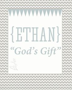 Items similar to Ethan Custom Name Meaning Print for Baby or Childs Room on Etsy Girl Names With Meaning, Baby Names And Meanings, Baby Girl Names, Baby Boy Names Strong, Baby Boys, Irish Baby, Hipster Babies, Kids Sleep, Child Sleep