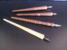 Schreibfedern - Schreibfedern - ein Designerstück von Lissis-Wichtelwerkstatt bei DaWanda