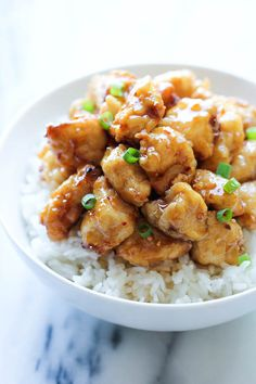 Asian Honey Chicken - A take-out favorite that you can easily make right at home - and the homemade version tastes a millions times better!!