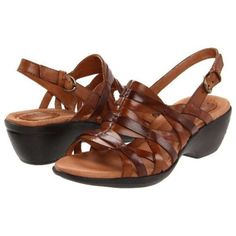 Clarks Artisan leather sandals Clarks Artisan 'Latin Samba' Leather Sandals for  Women Dress up your casual outfit with these Clarks Artisan 'Latin Samba' Leather Sandals size  7.5 but fits like 8 Leather/man-made material. The man-made outsole lends lasting traction and wear. Worn once! Clarks Shoes Sandals