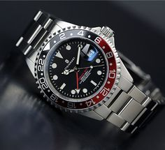 In some cases part of that image is the quantity of money you invested to use a watch with a name like Rolex on it; it is no secret how much watches like that can cost. Amazing Watches, Beautiful Watches, Cool Watches, Rolex Watches, Wrist Watches, Dream Watches, Sport Watches, Steinhart Watch, Swiss Automatic Watches