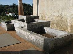 Planters - Ernsdorf Design   Concrete Fire Pit Bowls, Furniture and Art