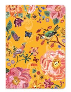 Stitch-bound notebook featuring the artwork of Nathalie Lete~Image via 7321…