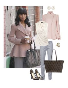 Olivia Pope - love the feminine and classy look!