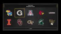 College teams you can choose from in NBA 2K17 MyCareer