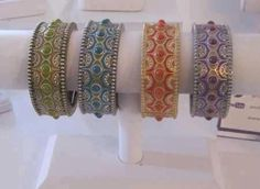 Zingara Collection Sari Bracelets! love these and for the month of April as a hostess they are available at a 78% discount!!