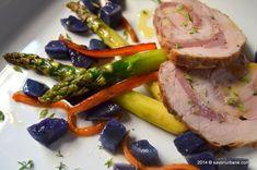 Rulada din muschiulet de porc cu sunca si cascaval   Savori Urbane Tasty, Yummy Food, Tuna, Steak, Urban, Fish, Pork, Delicious Food, Pisces