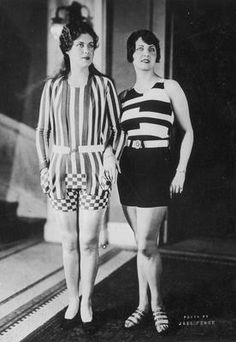 Swimming suits, 1927. Fabulous...