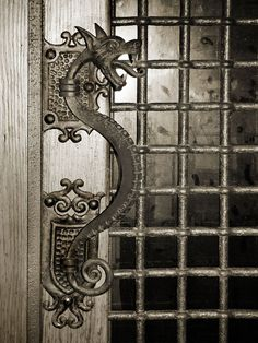 Dragon Door Handle - Sitges