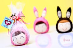 HONEY BUNNY ( My 8th Craft Book's Project)