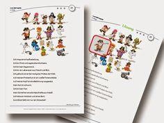 Logicals Grundschule Klasse 2-3 Leserätsel Material