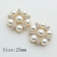 Diy Accessories High End Imitation Pearls Alloy Studded Glue On Disc Drill Deduction Rhinestones Accessories Flowers Home & Garden Arts,crafts & Sewing
