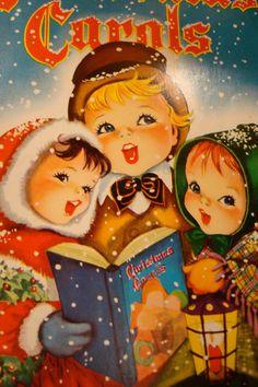 Christmas Carols by Nummynaze on Etsy
