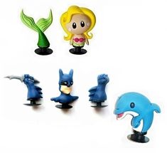FAST USA SHIPPING! SOUTH PARK shoe charms//cake toppers! Set of 4!