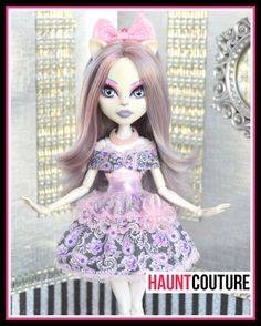 Monster Doll Haunt Couture: Springtime by HauntCoutureAtelier
