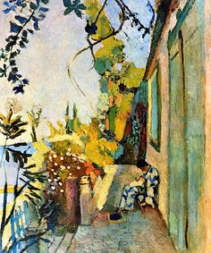 HENRI MATISSE The Terrace of Paul Signac at Saint-Tropez (1904)