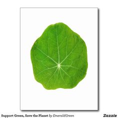 Shop Support Green, Save the Planet Postcard created by EmeraldGreen. Trees To Plant, Plant Leaves, Green Environment, Leaf Flowers, Save The Planet, Natural Living, Lush, Planets, Natural Life