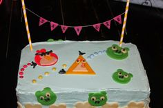 Miss Winther`s Kaker                                 : ANGRYBIRD KAKE Cake, Desserts, Food, Pie Cake, Tailgate Desserts, Pie, Deserts, Cakes, Essen