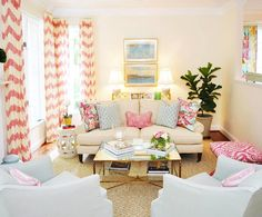 We're in a pink mood today  Happy Valentine's Day! Room by Diane Litz