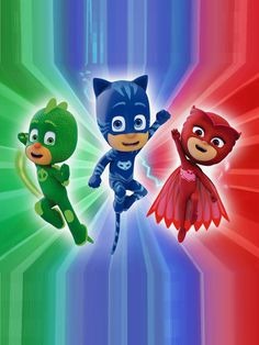 Pj Masks Iphone Wallpaper by on DeviantArt Candy Theme Birthday Party, Birthday Party Invitations, 4th Birthday, Po Patrol, Frog Box, Festa Pj Masks, Mask Painting, Mask Party, Disney Junior