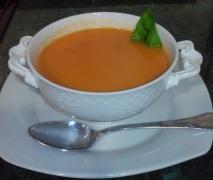 sopa de tomate a la albahaca thermomix