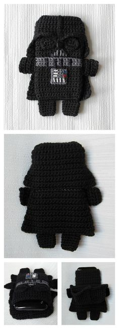 Crochet Star Wars Darth Vader Phone Case Pattern