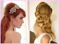 dicas de penteados para casamento noite cabelo solto