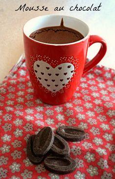 Mousse au chocolat facile et rapide pas trop sucrée, de christophe Felder!