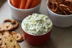Barefeet In The Kitchen: Dill Pickle Dip