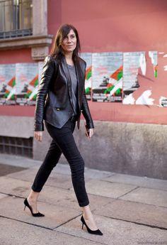 all black, Emmanuelle Alt