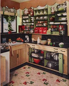 1950 Kitchen Design 1950s kitchen images | 1950 s colors republic steel kitchens pink