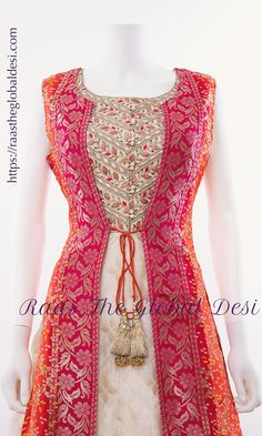 bandhani indian dresses near me Indian Gowns Dresses, Indian Fashion Dresses, Dress Indian Style, Indian Designer Outfits, Indian Outfits, Indian Designers, Indian Wear, Fashion Outfits, Long Gown Dress