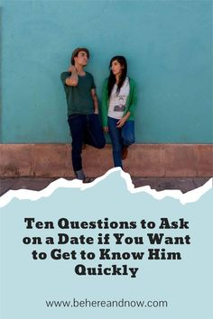 If you want to get to know him quickly, I recomand asking these fun questions. They will spark fun deep conversations.