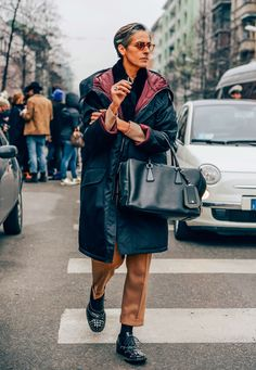 January 13, 2014 Tags Ana Gimeno Brugada, Church's, Studded, Layering, Smoking, Glasses, FW14 Men's, Bags, Milan, Coats, Sunglasses
