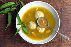 Matzo Ball Soup | Dani Valent Cooking Videos, Cooking Recipes, Pho Noodle Soup, Matzo Meal, No Rise Bread, What Recipe, Great Recipes, Egypt, I Am Awesome