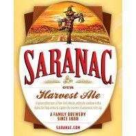 Saranac Harvest Ale- Featured Beer September 2013 #beer #Saranac #ale
