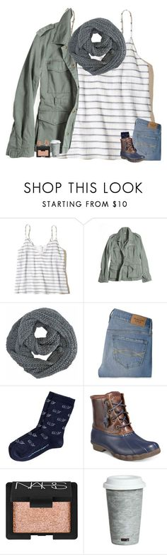 """contest"" by madelinelurene ❤ liked on Polyvore featuring Hollister Co., G1, Abercrombie & Fitch, Sperry, NARS Cosmetics, Fitz & Floyd, Kendra Scott, fashionwithnatz and natz1Kcontest"