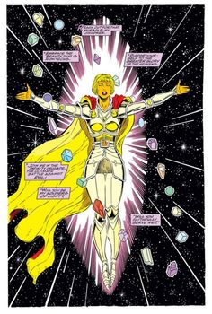 The Goddess (from Infinity Crusade #1)