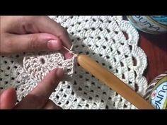 Sousplat Crochê - YouTube
