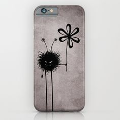 Evil Flower Bug iPhone & iPod Case