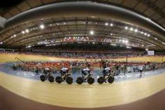 Aug 3 Britain's Ed Clancy, Geraint Thomas, Steven Burke and Peter Kennaugh compete in the track cycling men's team pursuit gold final at the Velodrome during the London 2012 Olympic Games August 3, 2012. Britain won the gold with a new world record of 3:51.659