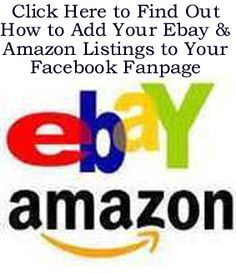Add Amazon, Ebay or Etsy Listings To Your Facebook Fan Page http://www.ebay.co.uk/itm/How-to-Add-Your-Live-Amazon-eBay-or-Etsy-Listings-to-Your-Facebook-Page-/390467361739?pt=US_Office_Business_Software=item5ae9ab1bcb#ht_500wt_1156