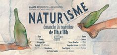 Naturisme la dégustation November 26 @ 11:00 - 18:00